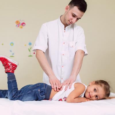 Детский массаж и гимнастика